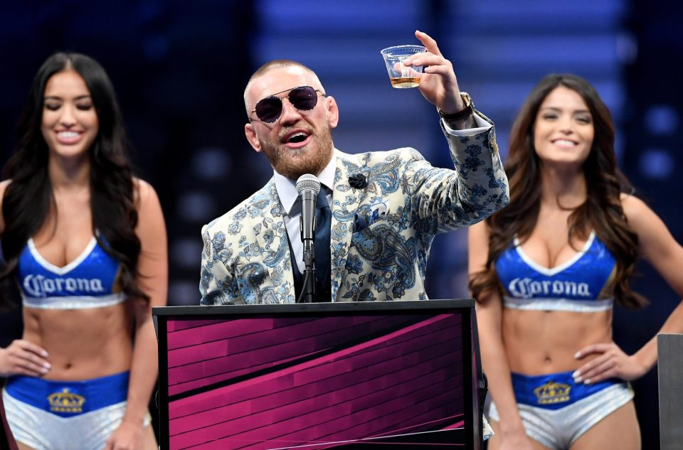 corona girls money fight Conor McGregor ready to cash in with his Notorious whiskey