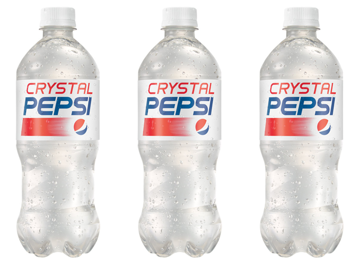 Crystal Pepsi Is Back On Store Shelves. photo