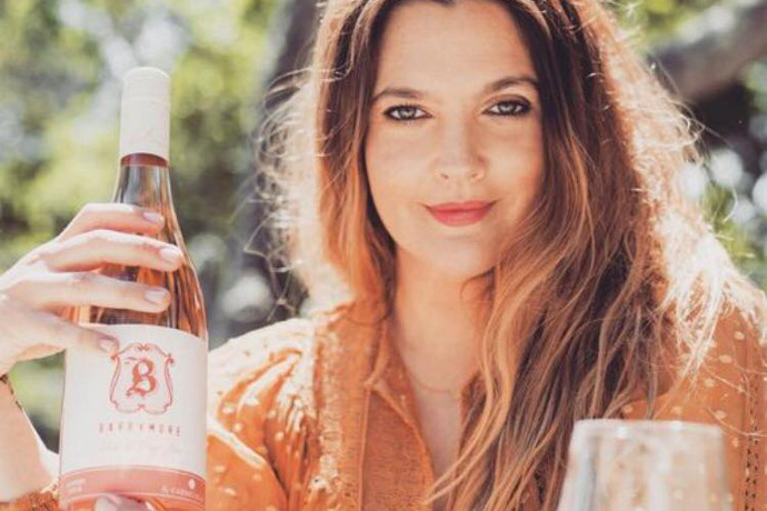 Drew Barrymore Tells Us How to Drink Wine photo