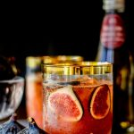 Fresh Fig and Honey Cocktail Recipe photo
