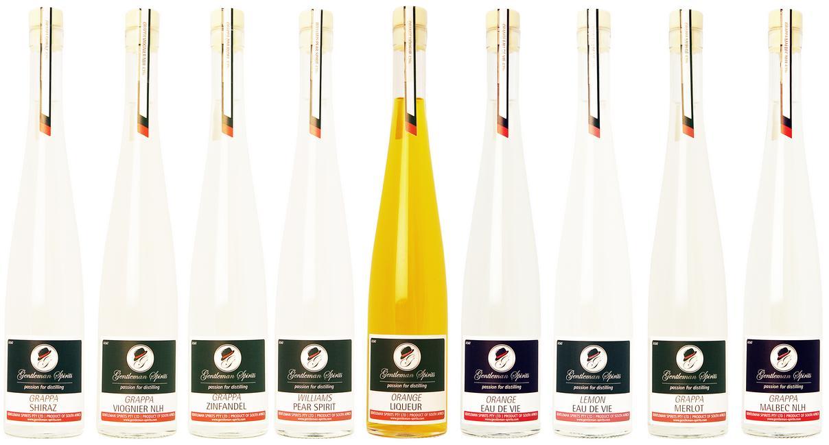 gentleman spirits bottles Shots with South African Angostura Cocktail Competition Judge, Kurt Schlechter