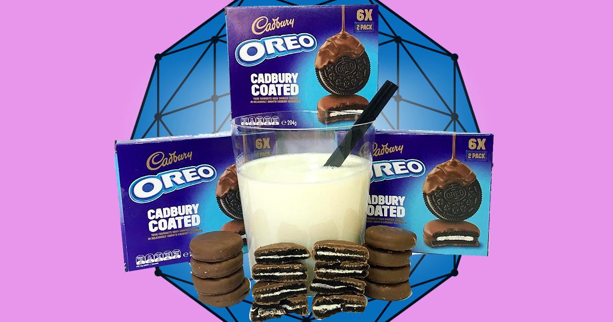 Cadbury Oreos Are Here To Bring Us Some Chocolate Covered Joy photo