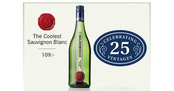 Topprankade Mulderbosch Sauvignon Blanc Fyller 25 år Och Firar Med Den Bästa årgången Någonsin! photo