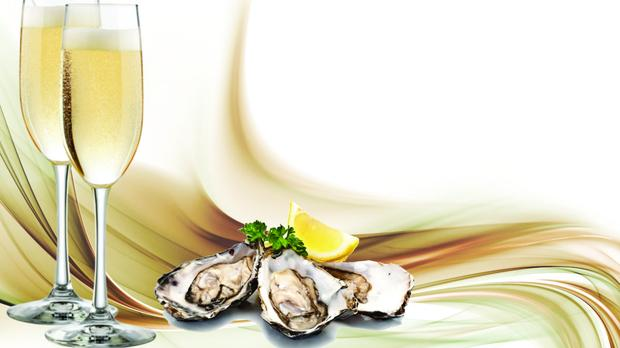 Oysters And Champagne Are A Perfect Match photo