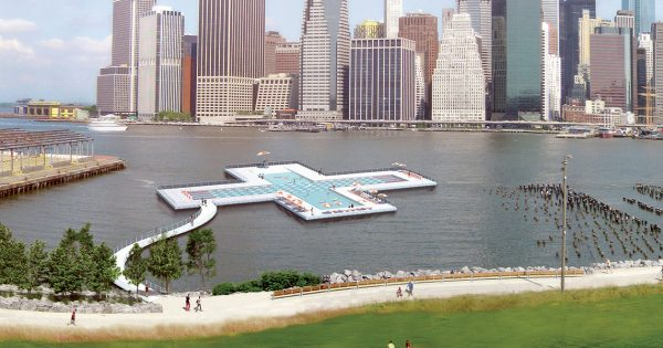 Heineken Really Wants This Floating Swimming Pool To Be Built In A New York City River photo