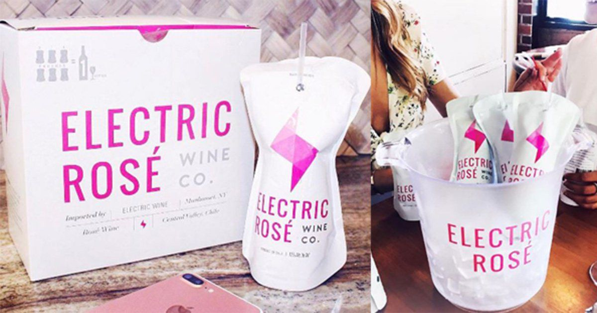 You Can Now Drink Rosé From Capri Sun-like Cartons And Life Is Good Again photo