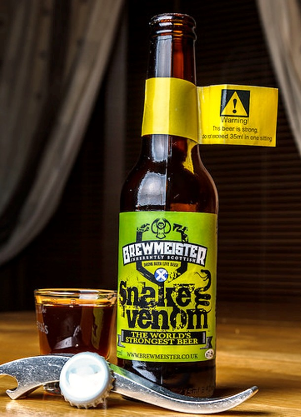 Snake Venom Beer Might Be the Strongest in the World photo