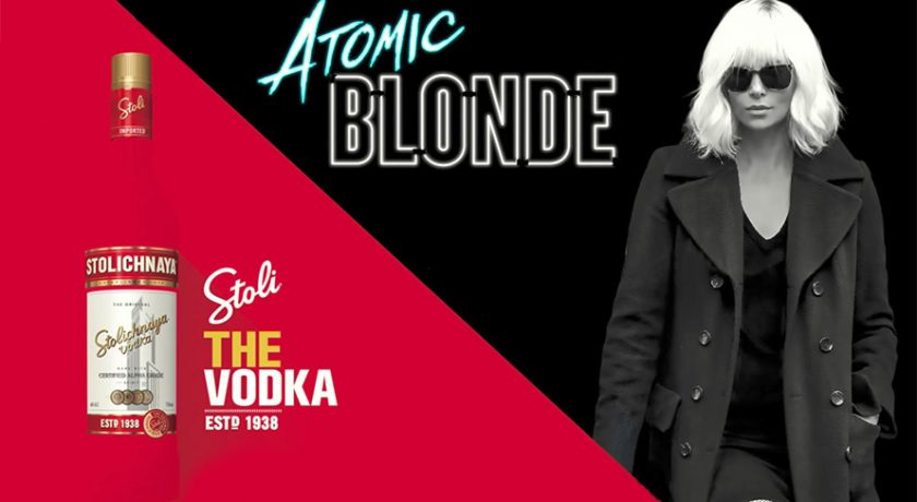 Stoli Partnered With Atomic Blonde Movie to Reintroduce the Vodka to Consumers photo