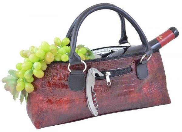 These Wine Coolers Disguised As Handbags Are Pure Class photo