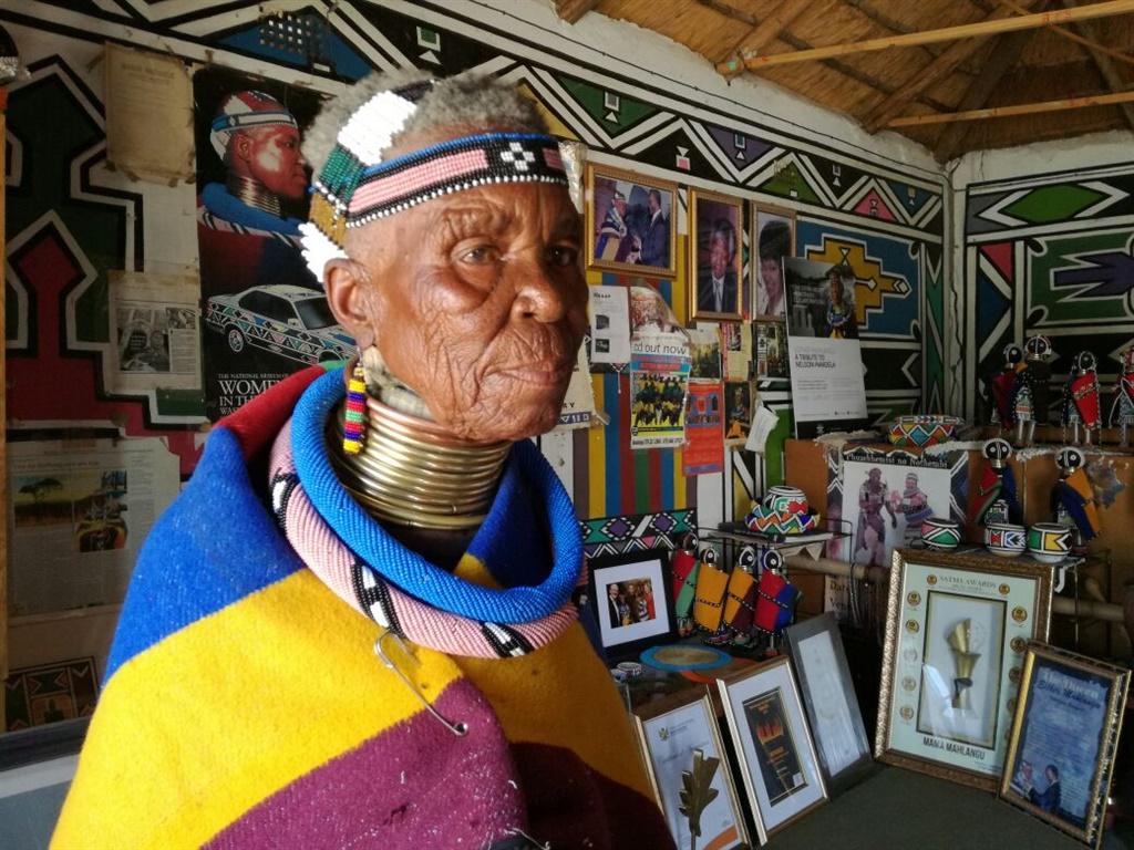Celebrating The Custodian Of Ndebele Culture – Heritage Icon, Esther Mahlangu photo