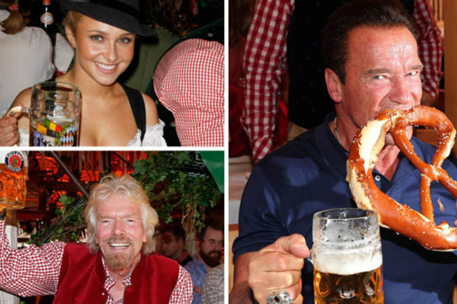 Oktoberfest: Celebs Snapped Up Boozing On World's Biggest Beer Fest photo