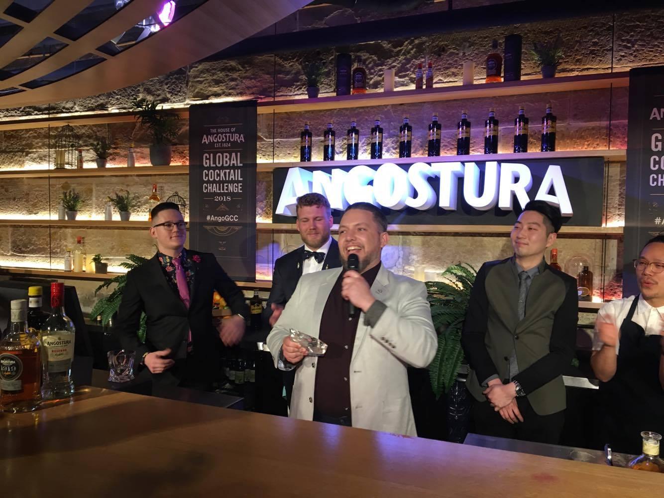 Dan Gregory Wins National Final Of Angostura Global Cocktail Challenge photo