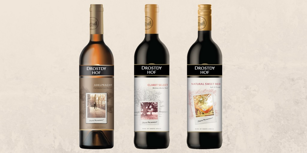New-look Label Design For Drostdy Hof photo