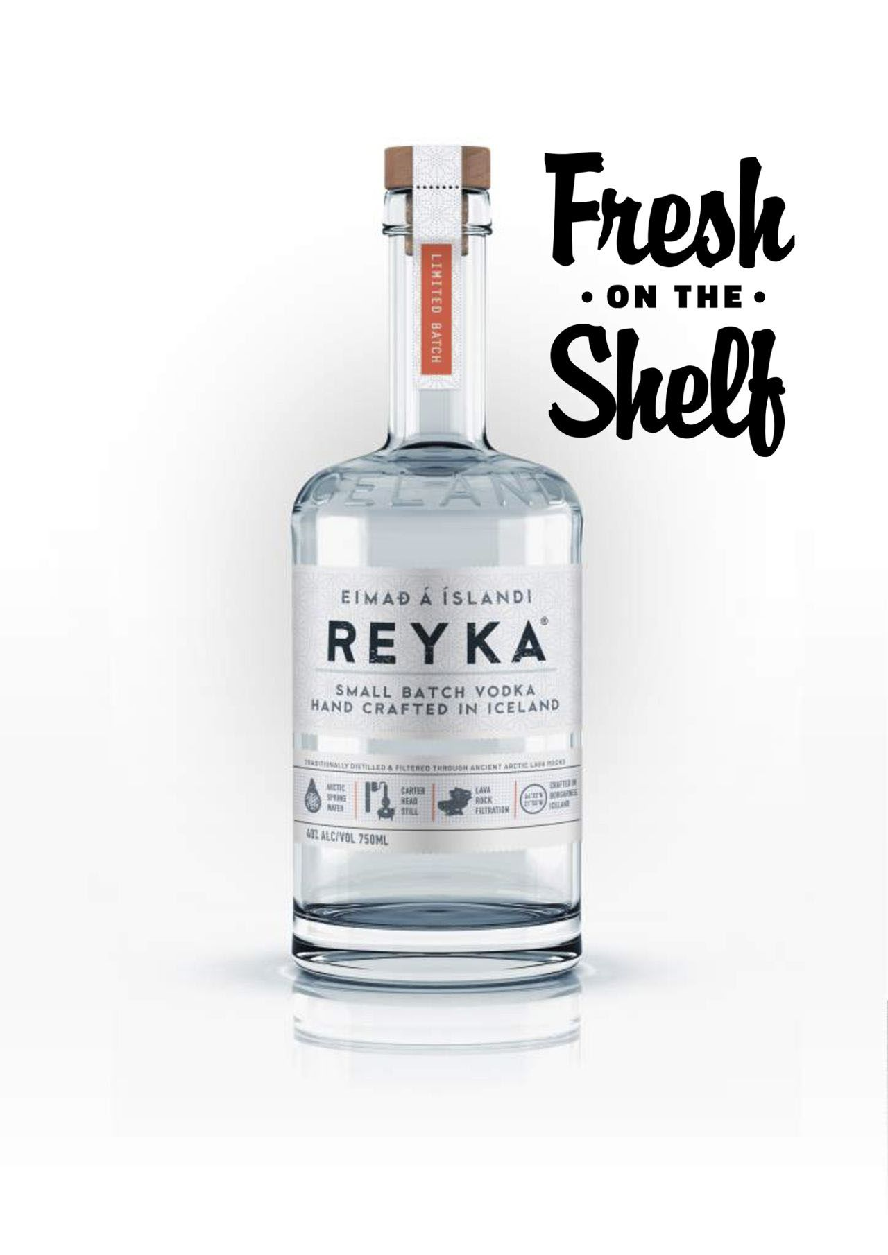 #freshontheshelf: Iceland's Reyka Vodka Now In South Africa photo