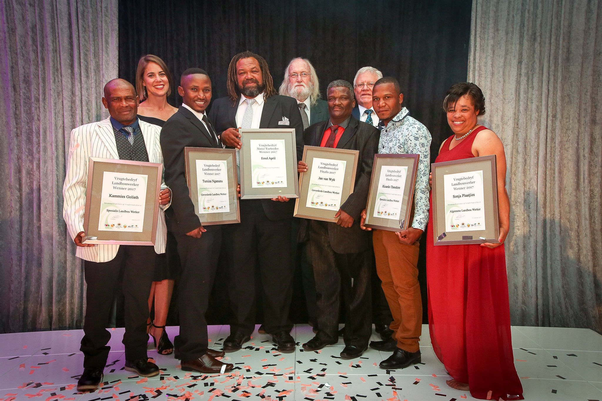 Outstanding Performances In Sa's Deciduous Fruit Industry Awarded photo