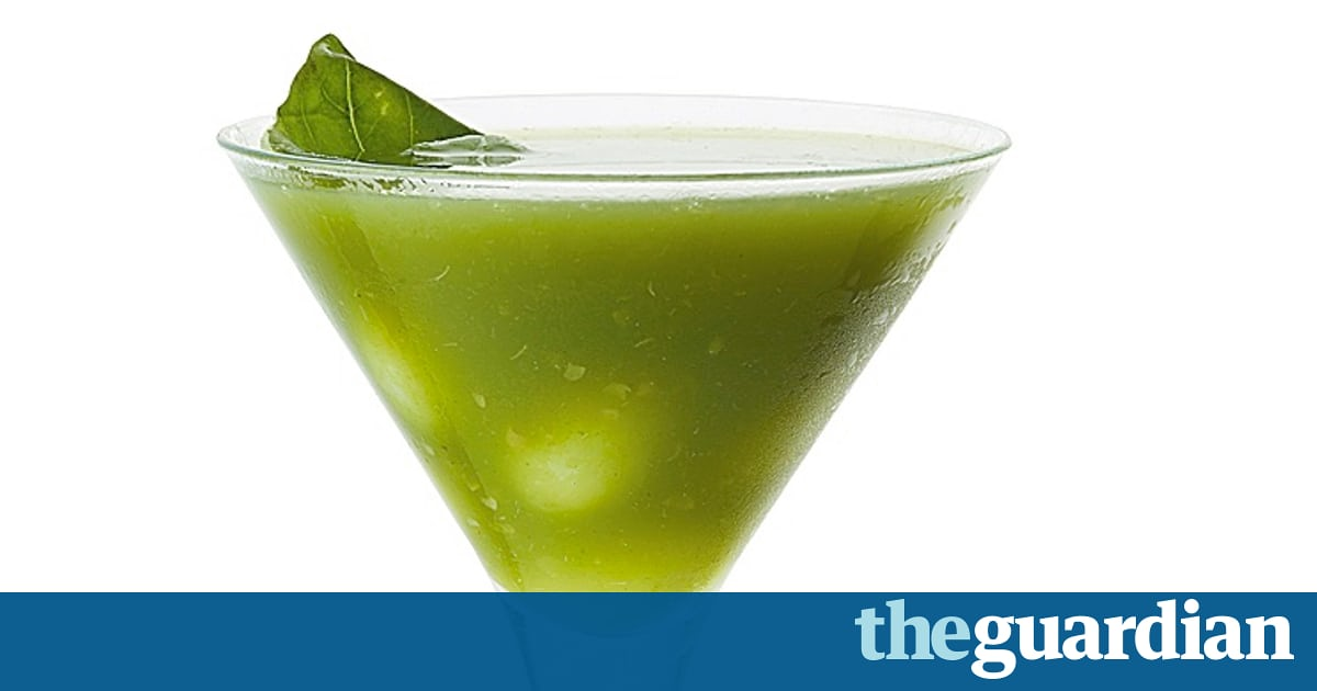 Cocktail Of The Week: Tea Room At Bun House's Basil And Grape Recipe photo