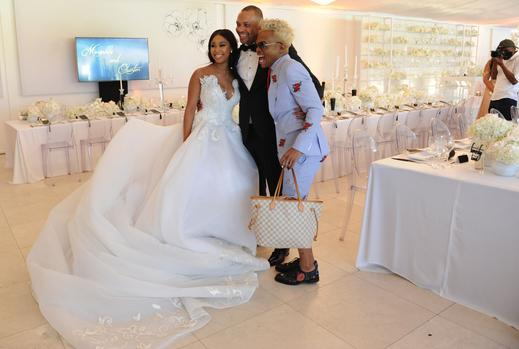 Exclusive: Minnie Dlamini Becomes Mrs Jones In Style photo