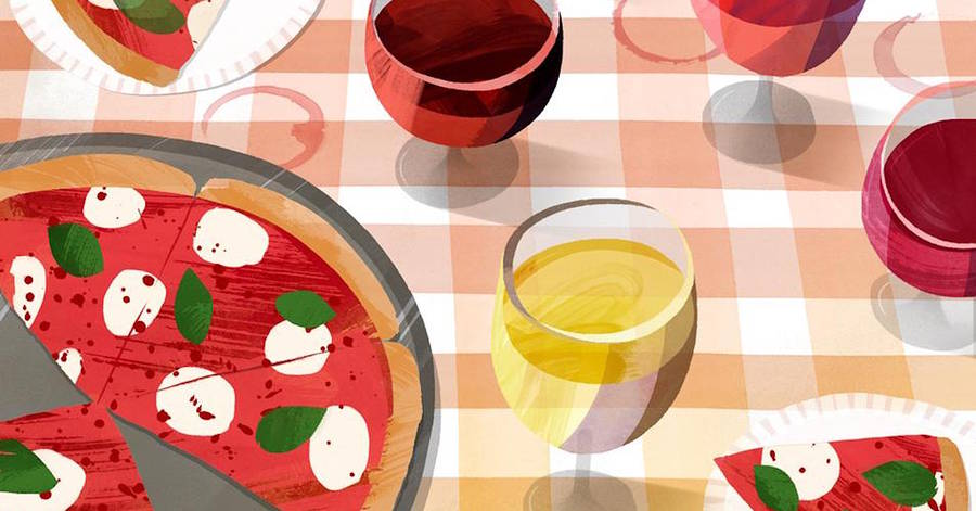 The Best Pizza Wine? Not The One You Think photo