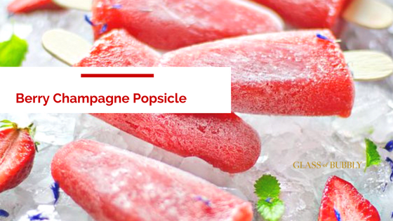 Berry Champagne Popsicles, The Ultimate End Of Summer Treat photo