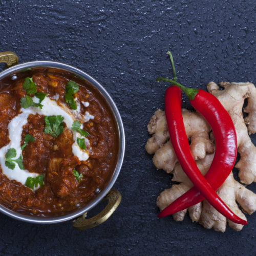 Chicken, Sweet Potato and Lentil Butter Curry photo