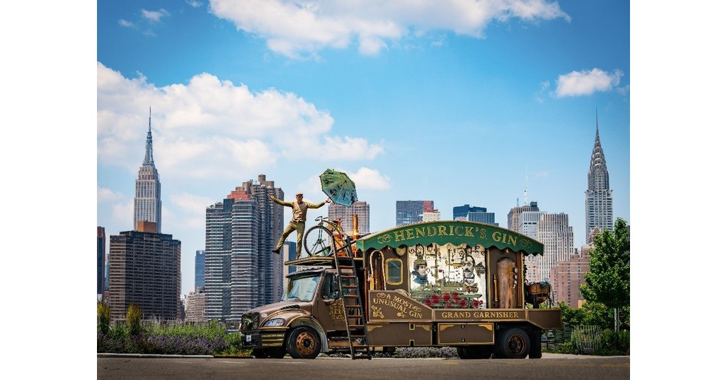Hendrick's Gin Continues Cross-country Quest With Giant, Traveling Cucumber Garnisher photo