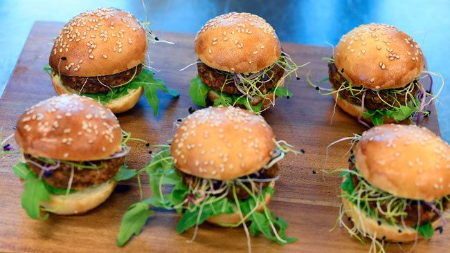 From Beef To Bugs: Swiss Supermarket Selling Insect Burgers photo