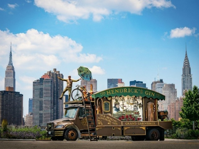 Hendricks Gin 'garnisher' Making A Stop In Phoenix, Sept. 21-24 photo