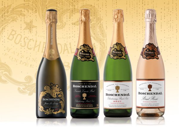 Boschendal bubbles are golden at the 2017 IWSC photo