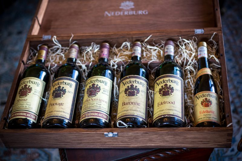 Nederburg's Venerable Line-up for the 2017 Nederburg Auction photo