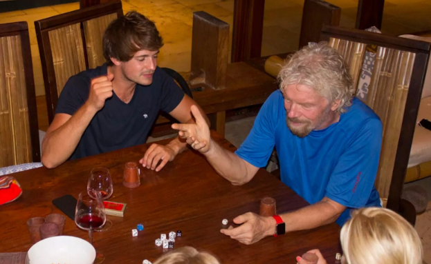 Sir Richard Branson survives Hurricane Irma by staying in his wine cellar photo