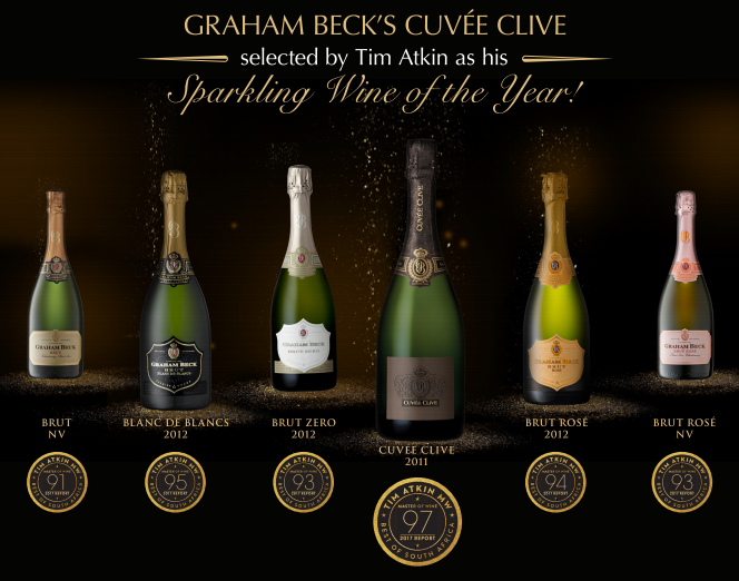 Graham Beck's Cuvée Clive selected by Tim Atkin as his Sparkling Wine of the Year photo