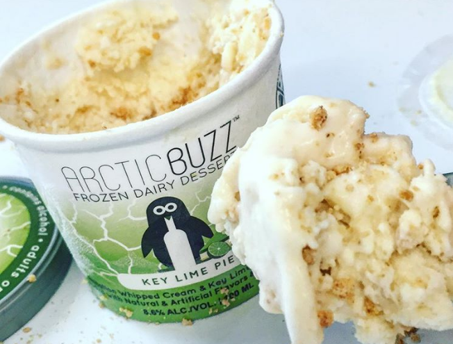 This Vodka Ice Cream Will Turn You Into a Happy Drunk photo