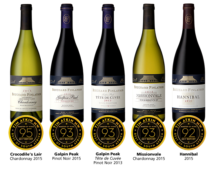 Bouchard Finlayson Chardonnays Celebrated On The World Stage With More Top Rankings photo
