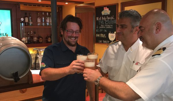Carnival Cruise Lines Opens First Craft Brewery at Sea photo