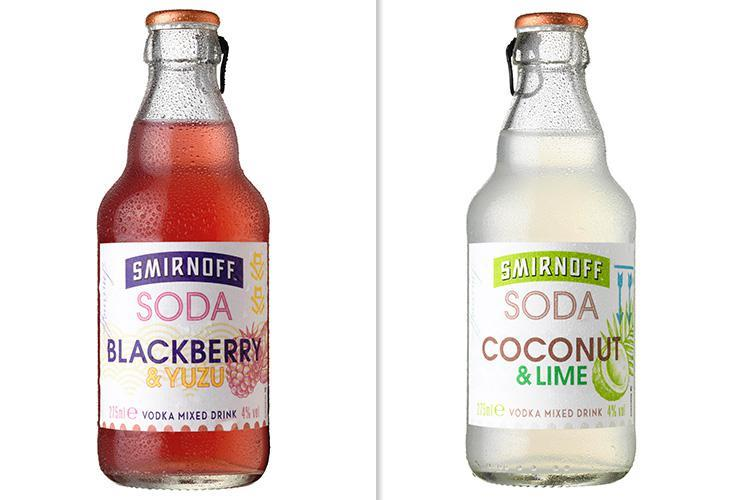 Smirnoff Are Releasing New Fruity Low-cal Alcopop With Just 127 Calories A Bottle photo