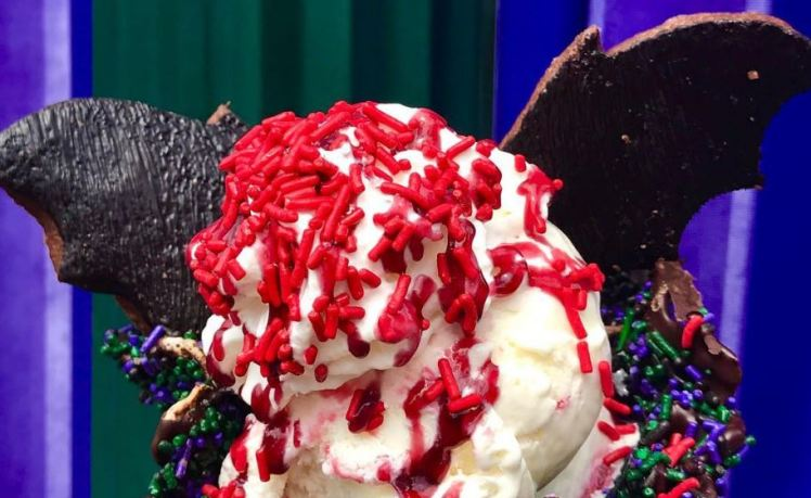 Disneyland Is Now Selling Ice Cream Topped With Bat Wing Biscuits photo