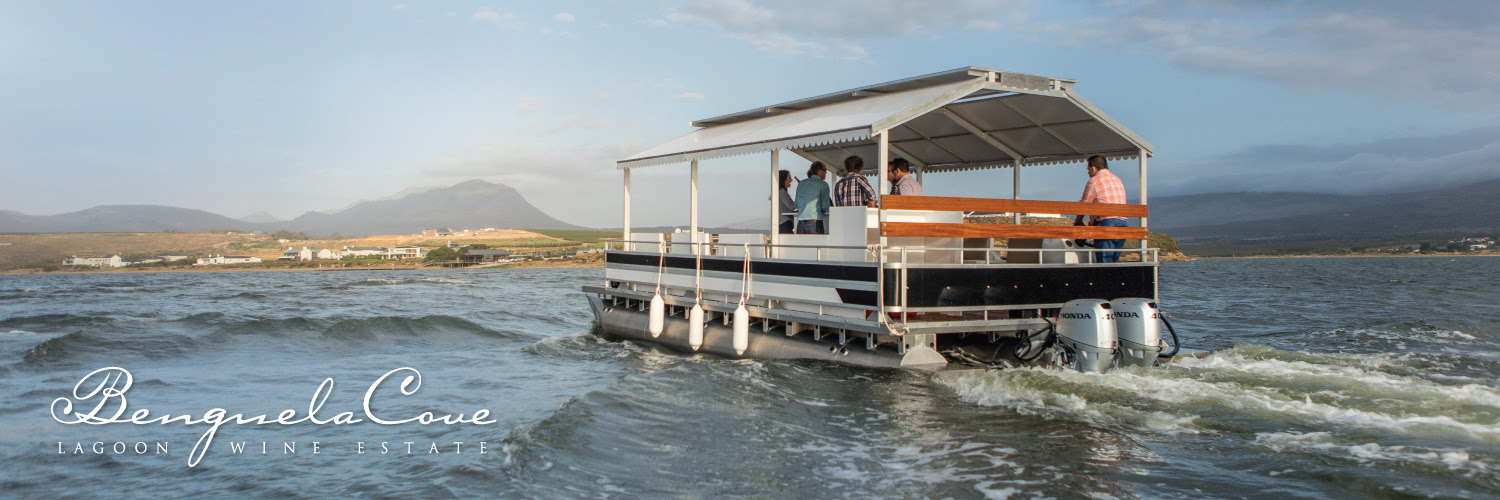 Drift away on a pontoon at Benguela Cove Lagoon Wine Estate photo