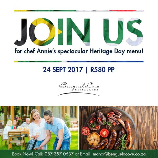 Tantalize your tastebuds with a Heritage Day inspired menu at Benguela Cove photo