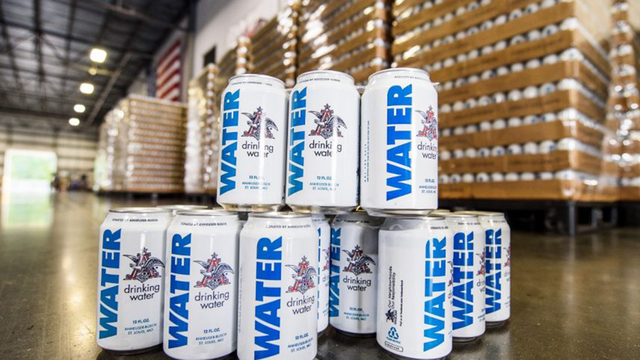 Budweiser Drinking Water Deliveries Arrive In Florida Ahead Of Hurricane Irma photo