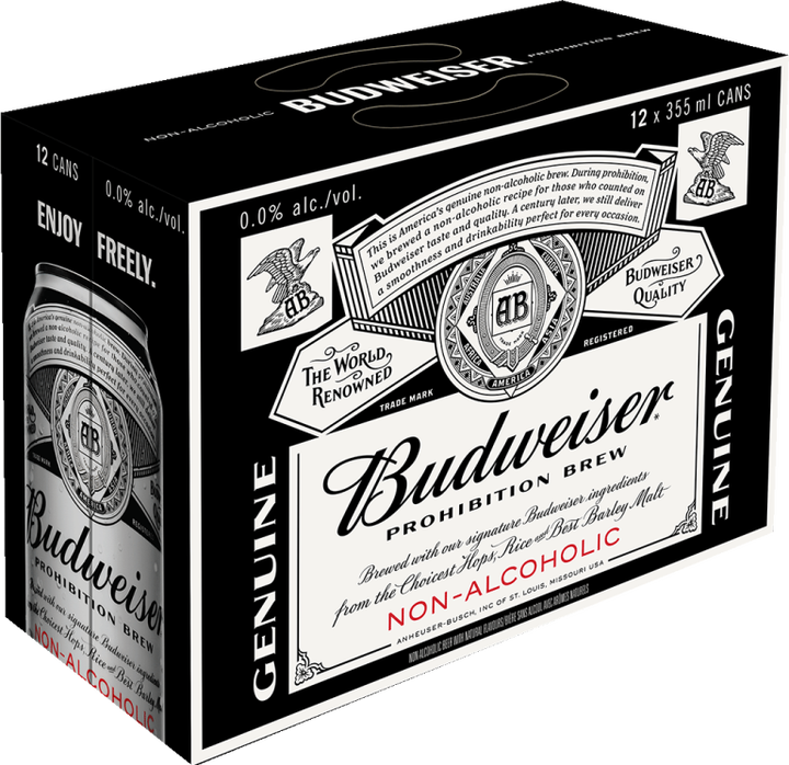 Budweiser Is Expanding Sales Of Its Non-alcoholic Beer photo