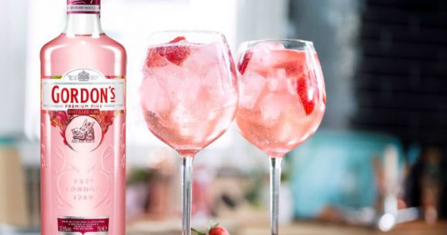 Get In! That Limited-edition Gordon's Pink Gin Is Landing This Weekend photo
