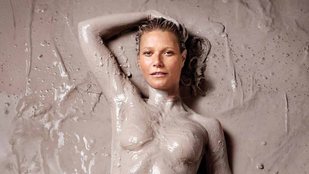 The First Cover Of *goop* Magazine Stars A Muddy Gwyneth Paltrow photo