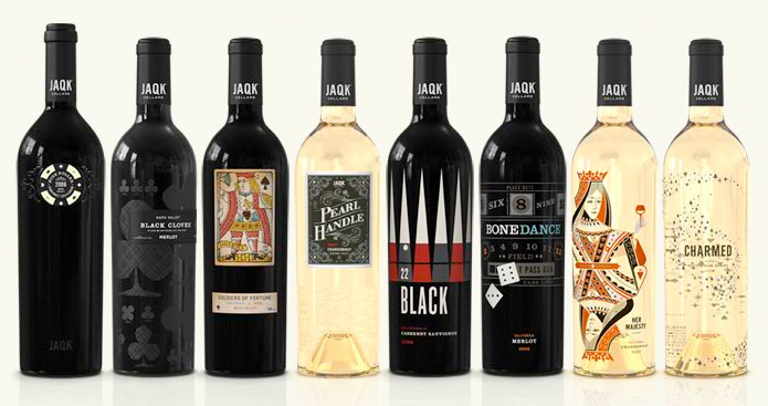 Score a full house of trump cards with the winning Poker-themed wines of JAQK Cellars photo