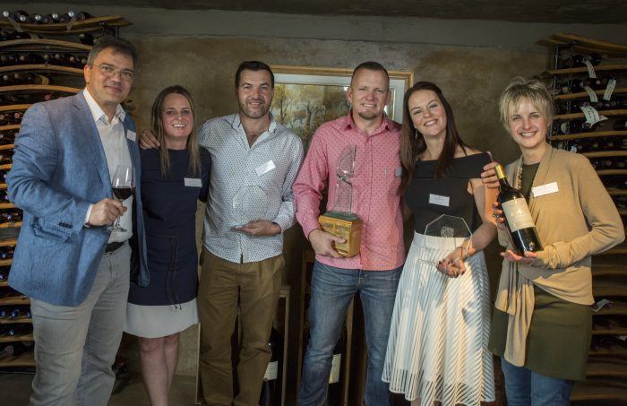 Kelderhof Winos Wins Battle of The Blends at the 2017 Blaauwklippen Blending Competition photo