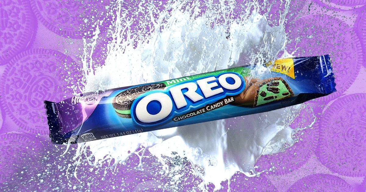 Oreo Has Teamed Up With Milka To Launch A New Mint Oreo Chocolate Bar photo