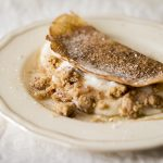 Milk Tart Pancakes with Cinnamon Crumble photo