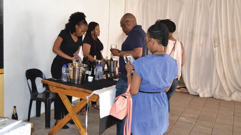 Mmegi Online :: Thapong Hosts A Chilled Wine And Arts Picnic photo