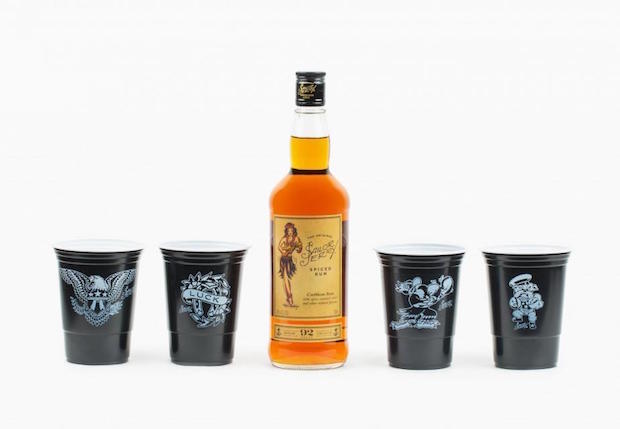 Game Time, Drink Time! The Limited Edition Sailor Jerry Game Day Pack photo