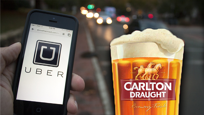 Uber Are Offering Free Rides On Grand Final Day photo