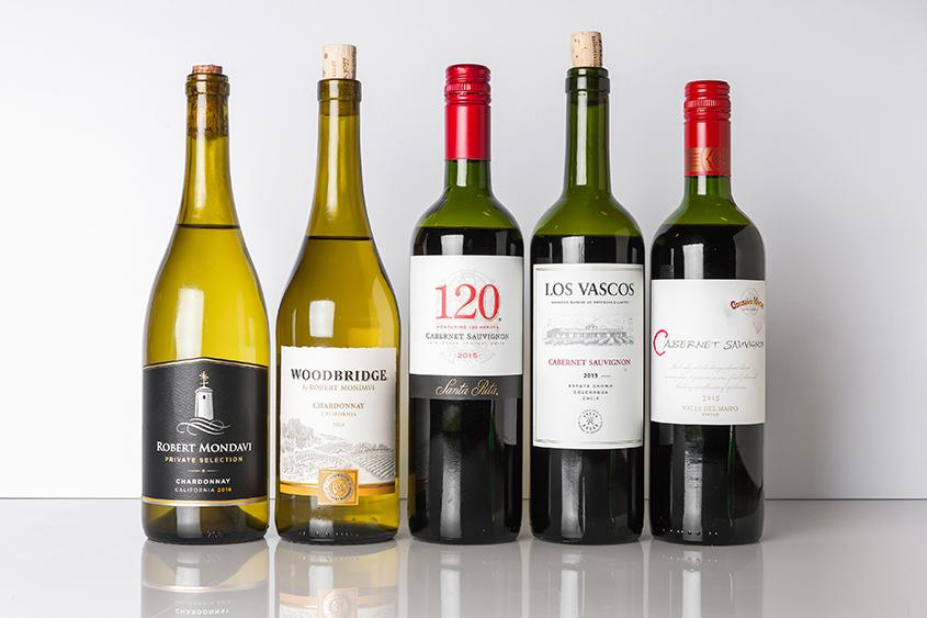 Taste Test: The Best Cheap Chardonnays And Cabernets photo